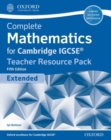 Image for Complete mathematics for Cambridge IGCSE: Teacher resource pack (extended)