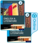 Image for English A: Literature print and online course book pack