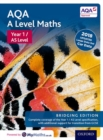 Image for AQA A level mathsYear 1,: Student book