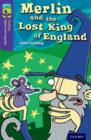 Image for Merlin and the lost king of England  : a legend from Britain