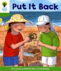 Image for Put it back