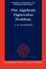 Image for The Algebraic Eigenvalue Problem