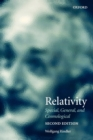 Image for Relativity  : special, general and cosmological