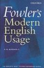 Image for Fowler's modern English usage