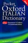 Image for Pocket Oxford Italian dictionary  : Italian-English, English-Italian