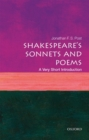 Image for Shakespeare's sonnets and poems  : a very short introduction