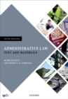 Image for Administrative law  : text and materials