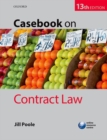 Image for Casebook on contract law