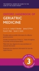 Image for Oxford handbook of geriatric medicine