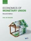Image for Economics of monetary union