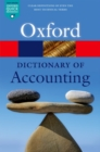 Image for A dictionary of accounting