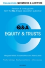 Image for Equity and trusts  : law Q&A revision and study guide