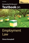 Image for Honeyball & Bowers' textbook on employment law