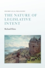 Image for The nature of legislative intent