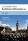 Image for Cases & materials on constitutional & administrative law