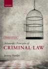 Image for Ashworth's principles of criminal law