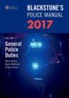 Image for Blackstone's police manualVolume 4,: General police duties 2017