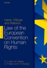 Image for Harris, O'Boyle & Warbick - Law of the European Convention on Human Rights