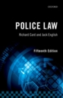 Image for Police law