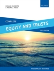 Image for Complete equity and trusts  : text, cases, and materials