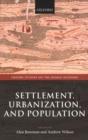 Image for Settlement, urbanization, and population