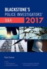 Image for Blackstone's police investigators' Q&A 2017