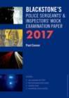 Image for Blackstone's police sergeants' & inspectors' mock examination paper 2017