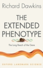 Image for The extended phenotype  : the long reach of the gene
