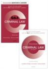 Image for Criminal Law Revision Pack 2016 : Law revision and study guide