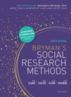 Image for Bryman's social research methods