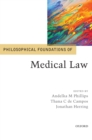 Image for Philosophical foundations of medical law