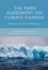Image for The Paris Agreement on climate change  : analysis and commentary