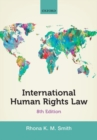 Image for International human rights law