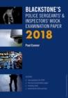 Image for Blackstone's Police Sergeants' & Inspectors' mock examination paper 2018