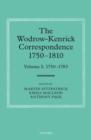 Image for The Wodrow-Kenrick correspondence 1750-1810Volume I,: 1750-1783