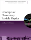 Image for Concepts of elementary particle physics