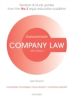 Image for Company law  : law revision and study guide