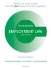 Image for Employment law concentrate  : law revision and study guide