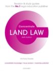 Image for Land law concentrate  : law revision and study guide