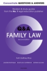 Image for Family law  : law Q&A revision and study guide