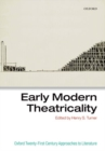 Image for Early modern theatricality