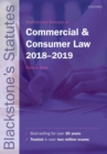 Image for Blackstone's statutes on commercial & consumer law, 2018-2019