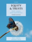 Image for Equity & trusts  : text, cases, and materials