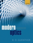 Image for Modern optics