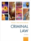 Image for Criminal law