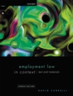 Image for Employment law in context  : text and materials