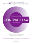 Image for Contract law  : law revision and study guide