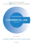 Image for Commercial law  : law revision and study guide