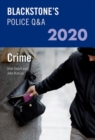 Image for Blackstone's police Q&A 2020Volume 1,: Crime 2020
