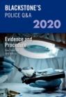 Image for Blackstone's police Q&AVolume 2,: Evidence and procedure 2020